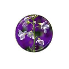 Cuckoo Flower Golf Ball Marker 4 Pack (for Hat Clip) by Siebenhuehner