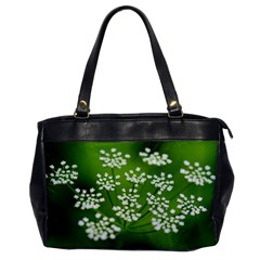 Queen Anne s Lace Oversize Office Handbag (one Side) by Siebenhuehner