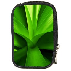 Yucca Palm  Compact Camera Leather Case by Siebenhuehner