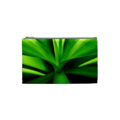 Yucca Palm  Cosmetic Bag (small) by Siebenhuehner