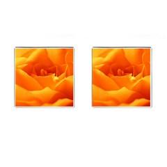 Rose Cufflinks (square) by Siebenhuehner
