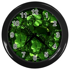 Magic Balls Wall Clock (black) by Siebenhuehner