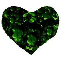 Magic Balls 19  Premium Heart Shape Cushion by Siebenhuehner