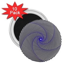 Hypnotisiert 2 25  Button Magnet (10 Pack) by Siebenhuehner