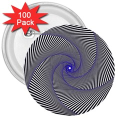 Hypnotisiert 3  Button (100 Pack) by Siebenhuehner
