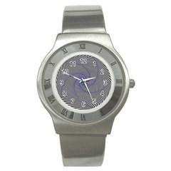 Hypnotisiert Stainless Steel Watch (Unisex)