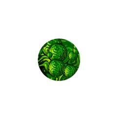 Green Balls  1  Mini Button by Siebenhuehner