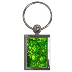 Green Balls  Key Chain (rectangle) by Siebenhuehner