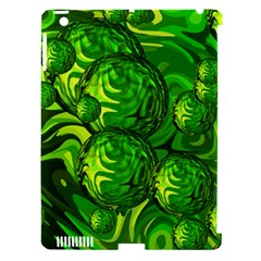 Green Balls  Apple Ipad 3/4 Hardshell Case (compatible With Smart Cover) by Siebenhuehner
