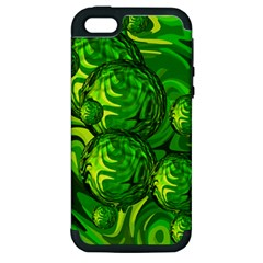 Green Balls  Apple Iphone 5 Hardshell Case (pc+silicone) by Siebenhuehner