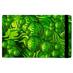 Green Balls  Apple Ipad 3/4 Flip Case by Siebenhuehner
