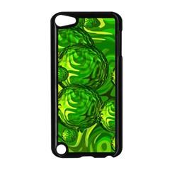 Green Balls  Apple Ipod Touch 5 Case (black) by Siebenhuehner