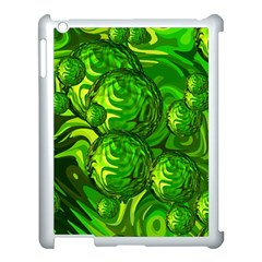 Green Balls  Apple Ipad 3/4 Case (white)