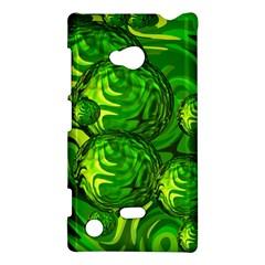 Green Balls  Nokia Lumia 720 Hardshell Case by Siebenhuehner