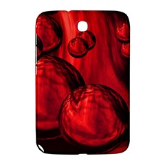 Red Bubbles Samsung Galaxy Note 8 0 N5100 Hardshell Case  by Siebenhuehner