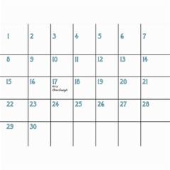 Birthday Calendar3 By Sierra Nitz   Wall Calendar 8 5  X 6    6415ky1r7c3k   Www Artscow Com Apr 2013