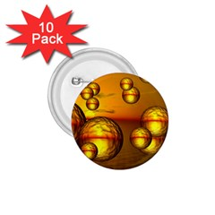 Sunset Bubbles 1 75  Button (10 Pack) by Siebenhuehner