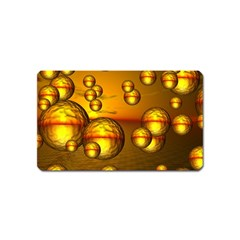Sunset Bubbles Magnet (name Card) by Siebenhuehner