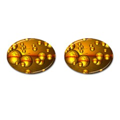 Sunset Bubbles Cufflinks (oval) by Siebenhuehner