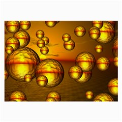Sunset Bubbles Glasses Cloth (large) by Siebenhuehner