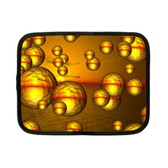Sunset Bubbles Netbook Case (small) by Siebenhuehner