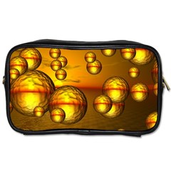 Sunset Bubbles Travel Toiletry Bag (two Sides) by Siebenhuehner