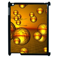 Sunset Bubbles Apple Ipad 2 Case (black) by Siebenhuehner