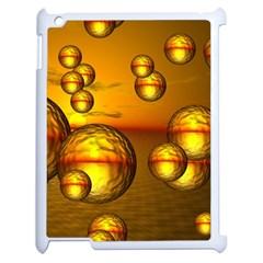 Sunset Bubbles Apple Ipad 2 Case (white) by Siebenhuehner