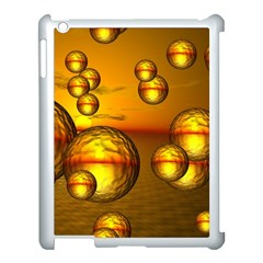 Sunset Bubbles Apple Ipad 3/4 Case (white) by Siebenhuehner