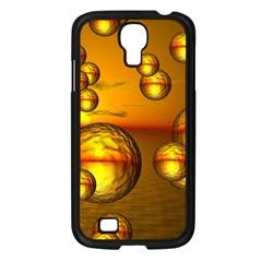Sunset Bubbles Samsung Galaxy S4 I9500/ I9505 Case (black) by Siebenhuehner