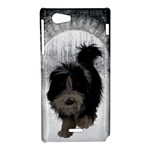 Bearded Collie-008 - Sony Xperia J Hardshell Case