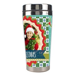 Christmas By Merry Christmas   Stainless Steel Travel Tumbler   Z0hmeazf80ix   Www Artscow Com Right