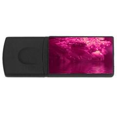 Waterdrops 4gb Usb Flash Drive (rectangle) by Siebenhuehner