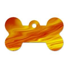 Design Dog Tag Bone (two Sided) by Siebenhuehner
