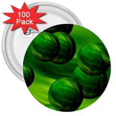 Magic Balls 3  Button (100 Pack) by Siebenhuehner