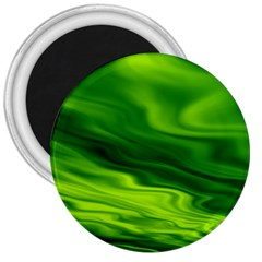 Green 3  Button Magnet by Siebenhuehner