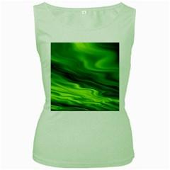 Green Womens  Tank Top (green) by Siebenhuehner