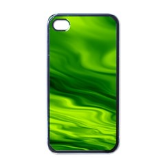 Green Apple Iphone 4 Case (black) by Siebenhuehner
