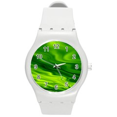 Green Plastic Sport Watch (medium) by Siebenhuehner