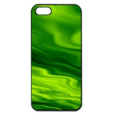 Green Apple Iphone 5 Seamless Case (black) by Siebenhuehner