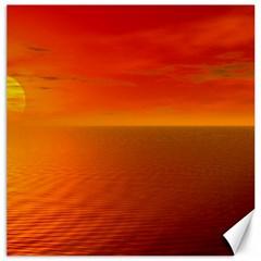Sunset Canvas 16  X 16  (unframed)