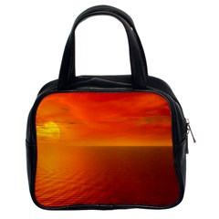 Sunset Classic Handbag (two Sides) by Siebenhuehner