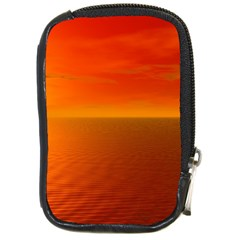 Sunset Compact Camera Leather Case by Siebenhuehner
