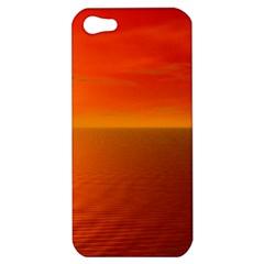 Sunset Apple Iphone 5 Hardshell Case by Siebenhuehner