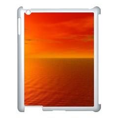 Sunset Apple Ipad 3/4 Case (white) by Siebenhuehner