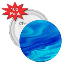 Blue 2 25  Button (100 Pack) by Siebenhuehner