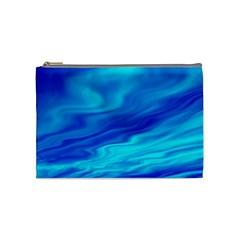 Blue Cosmetic Bag (medium) by Siebenhuehner