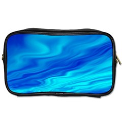 Blue Travel Toiletry Bag (One Side)
