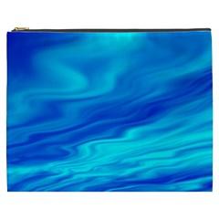 Blue Cosmetic Bag (xxxl) by Siebenhuehner