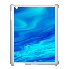 Blue Apple Ipad 3/4 Case (white) by Siebenhuehner
